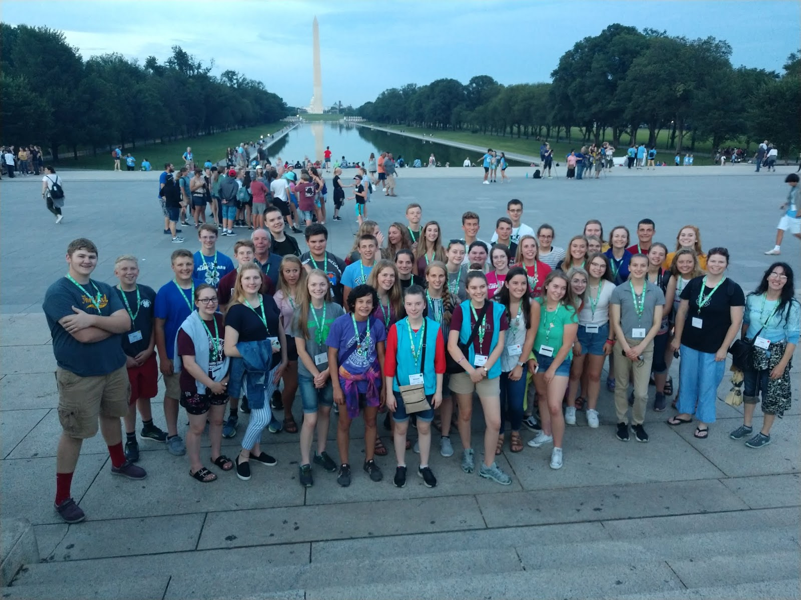 Minnesota youth learn about civic engagement in Washington D C