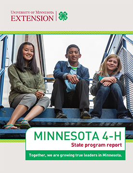 4-H state program report cover
