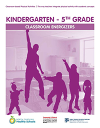 Classroom energizers booklet cover