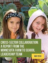 Cross-sector collaboration report cover