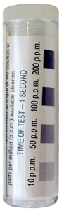 Test strips for sanitizer