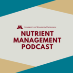 U of M Extension nutrient management podcast icon