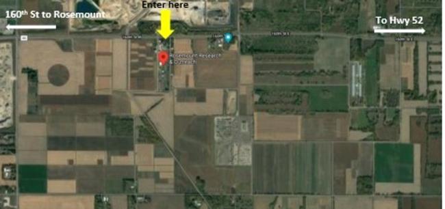 aerial photo of plot tour location