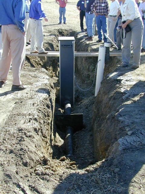 controlled drainage structure