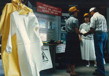 Chemical safety booth