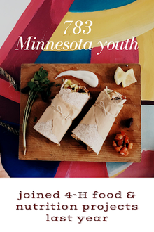 783 Minnesota youth joined 4-H food and nutrition projects last year