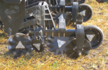 Coulters-only strip-till unit