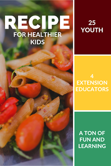 Recipe for healthier kids: 25 youth, 4 Extension educators and a ton of fun and learning