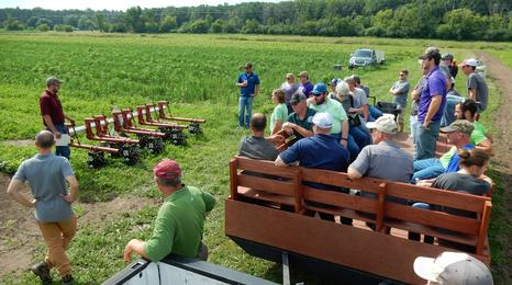 weed control field tour