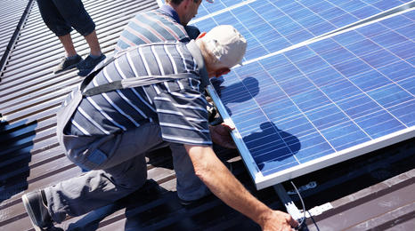 Researching impact of installing solar panels
