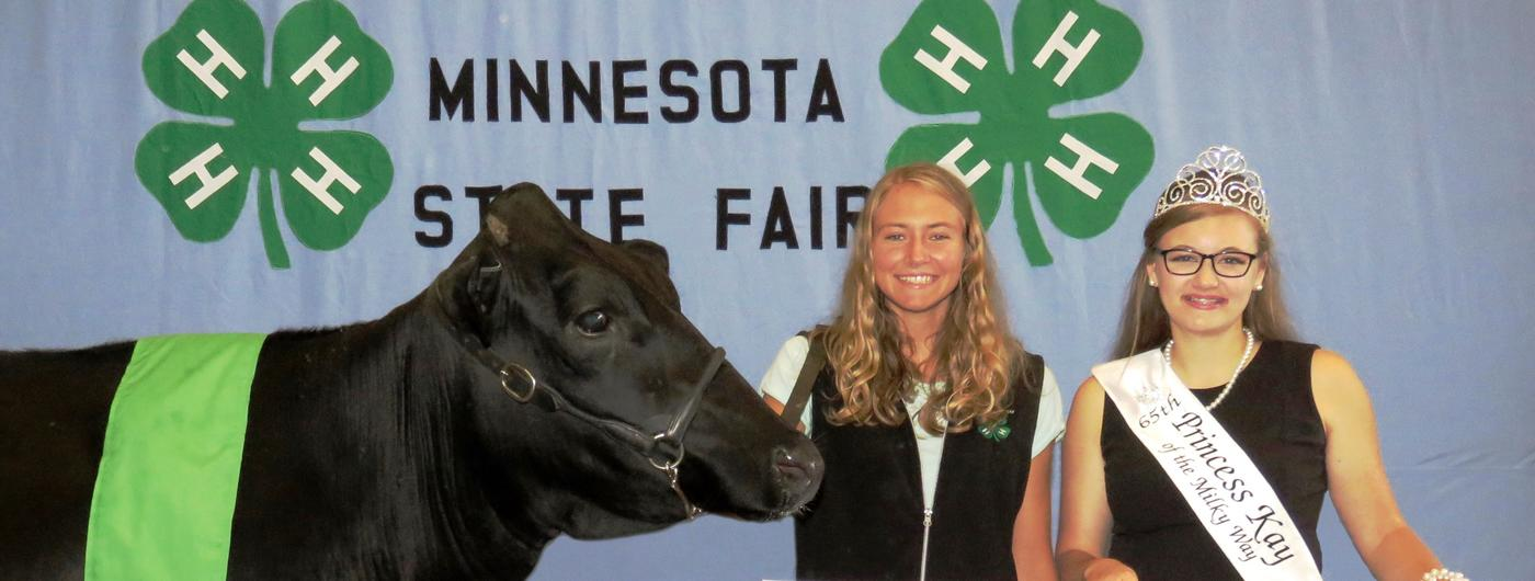 2019 first place Dairy Showcase, Emily Benrud