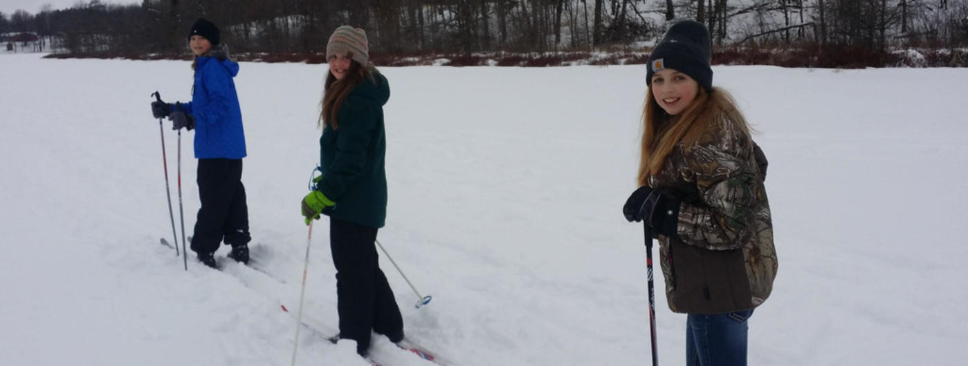 kids cross country skiing
