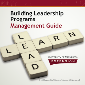 Cover for building leadership programs management guide