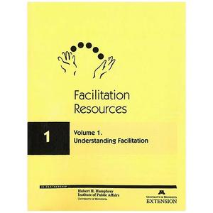 Cover for facilitation resources