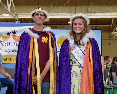 2019 Poultry Prince Princess contest winners