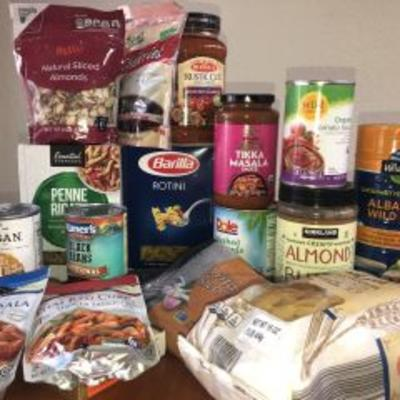 food items for food shelf
