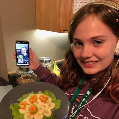 4-H; July 2020 report nutrition