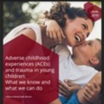 Cover of mental health e-review on ACES