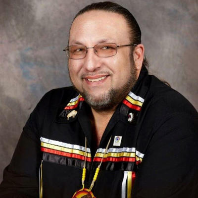 Lower Sioux Indian Community President Robert Larsen