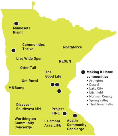 Minnesota Making it Home resident recruitment initiatives