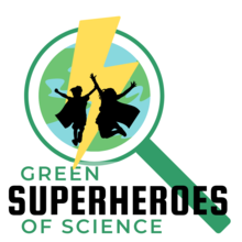 green superheroes of science