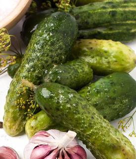 Pickled pickles cucumbers.