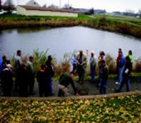 Stormwater education class.