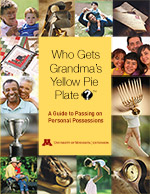 Who Gets Grandma's Yellow Pie Plate?™ Workbook cover small